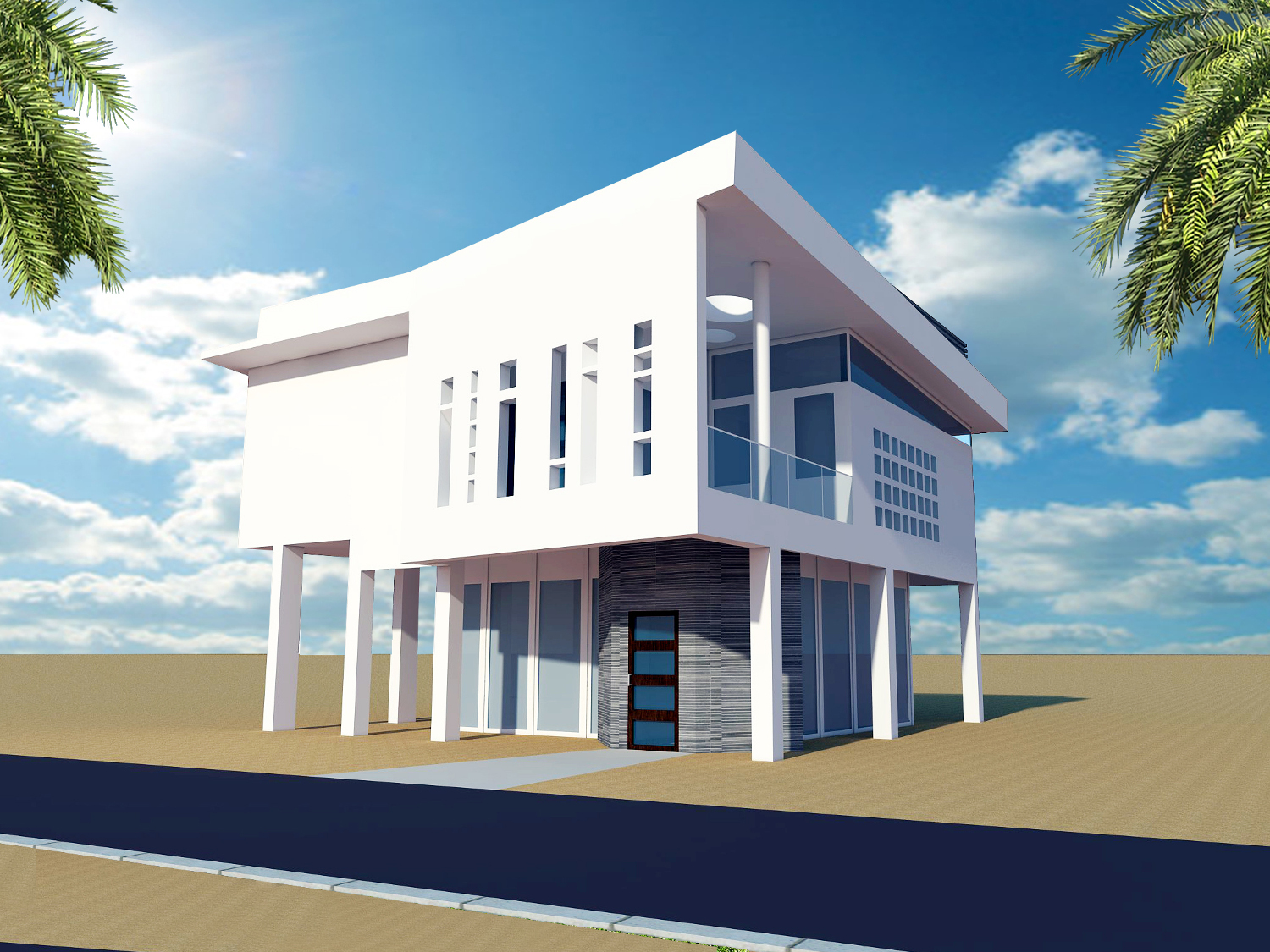 Google sketchup a study of architecture somegamez for Architectural design with sketchup